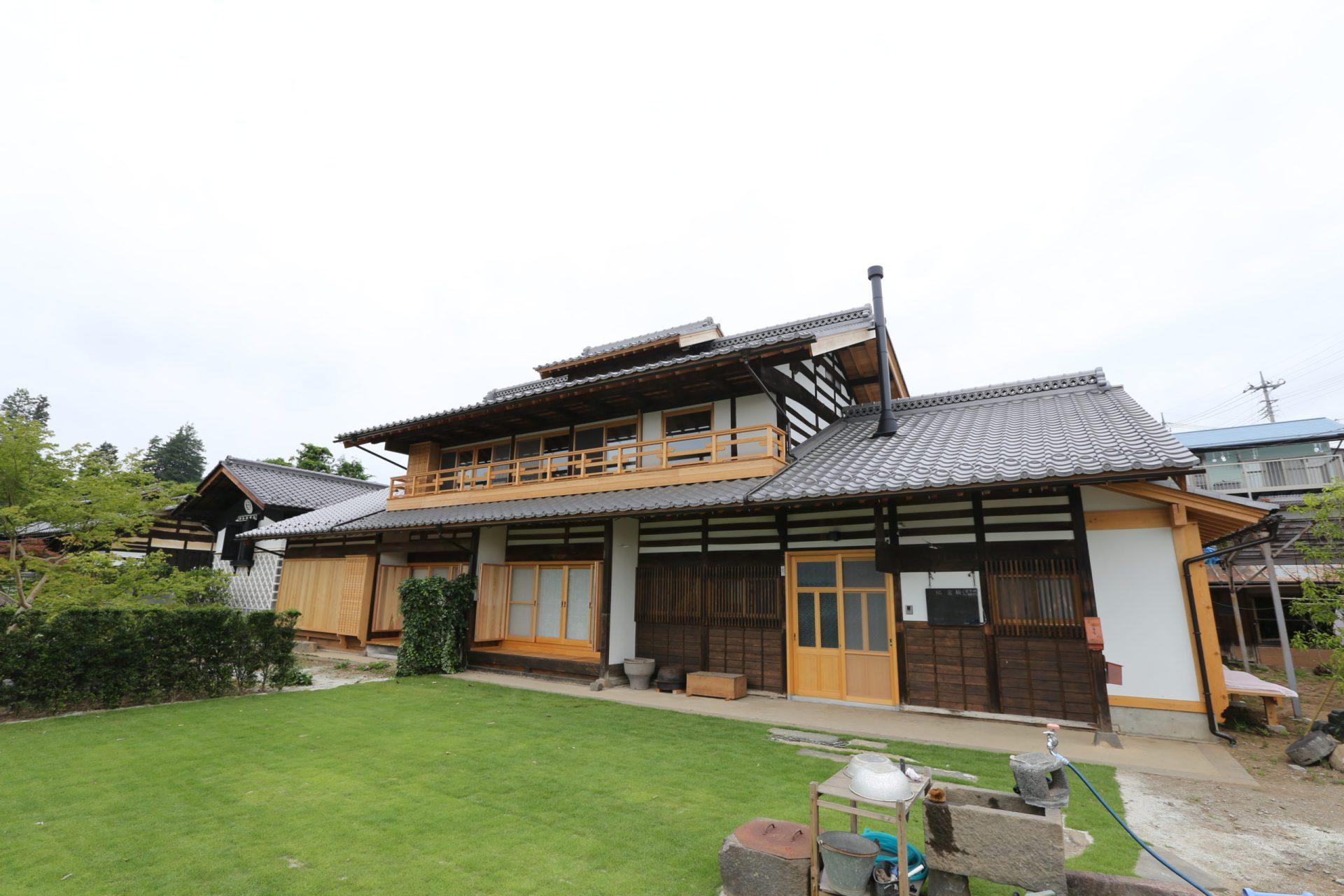 A邸古民家再生の施工