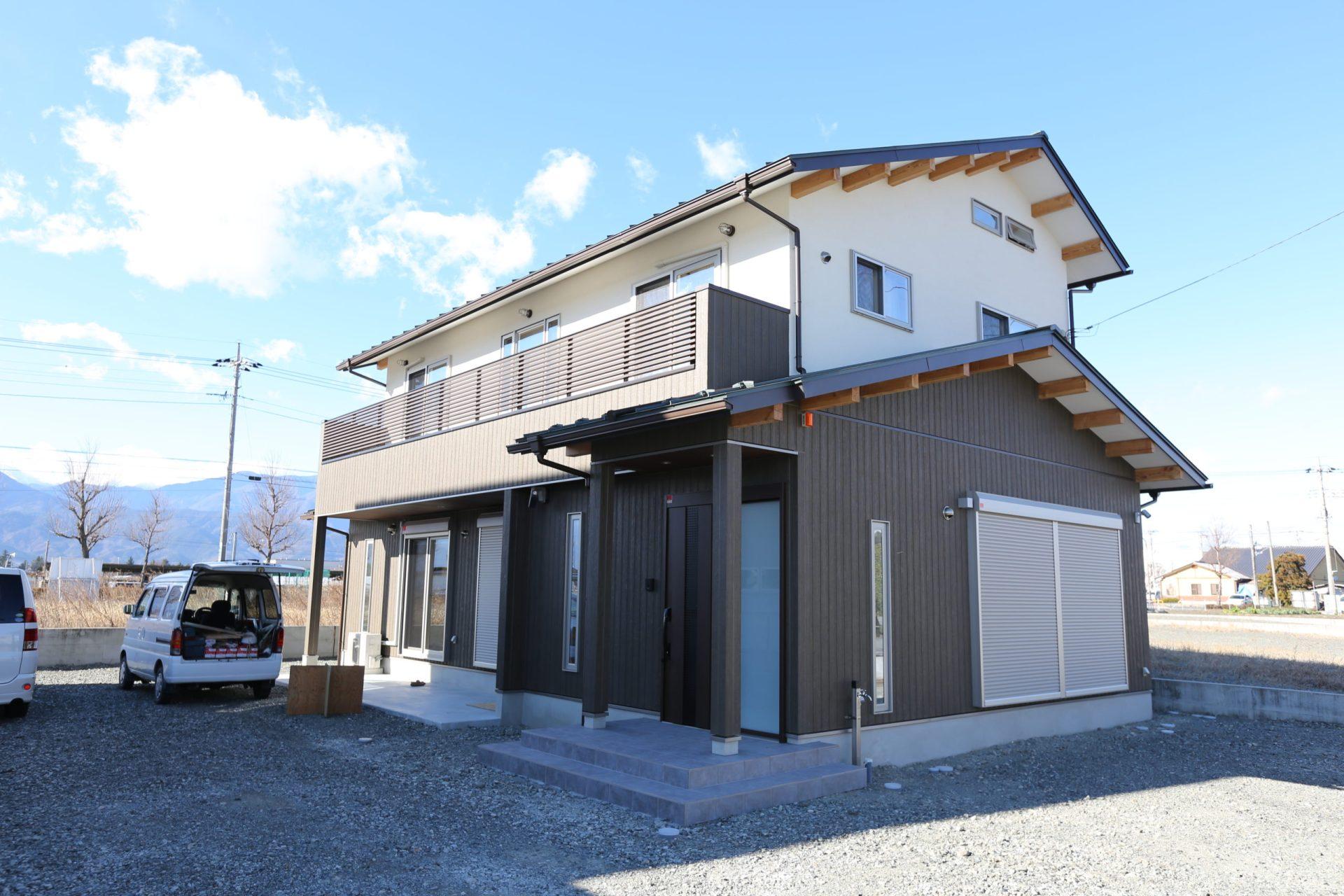 昭和町S邸新築施工